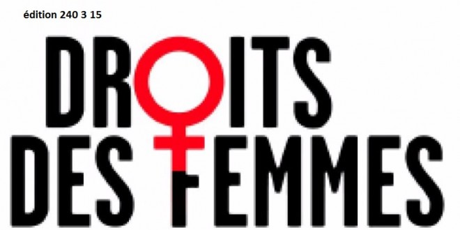 Conférence de presse: Loi contre les violences à l'égard des femmes