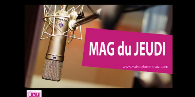 Mag w-end 14/05/15 Par Karima et Adel Boucherguine