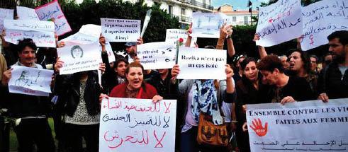 Promulgation de la loi contre les violences faites aux femmes