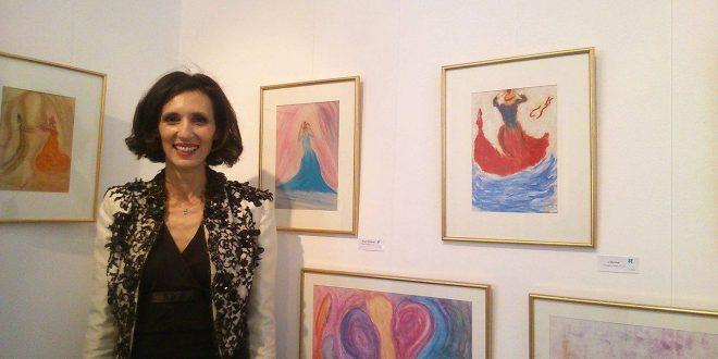 Ghyzlen Zerrouki Bouabdallah expose 45 toiles artistiques sous le thème « Influencia »